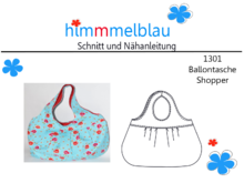 1301 ebook Ballontasche Shopper 2 Größen