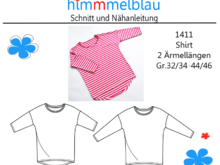 1411 E-Book Damen Shirt Gr.32/34 -44/46