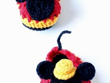 Baby Crochet Shoes Mr.M Mouse