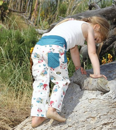 MATTIs trouser pattern, sizes 62-104 (6 mo. – 4/5 yrs.) – several lengths possible