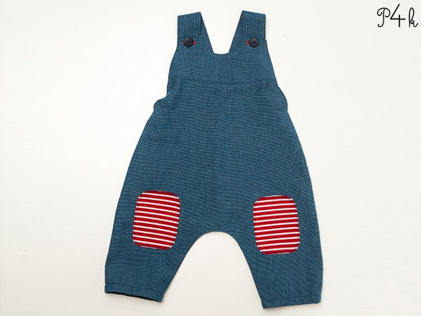 Onepiece Pattern Baby Dungaree Kids Overall Boy Romper Playsuit