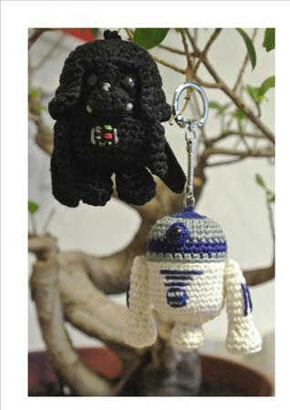 Kombiangebot r2D2 & Darth Vader häkeln