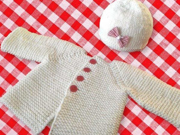 Baby jacke raglan stricken anleitung