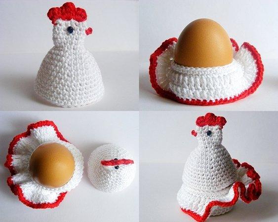Amigurumi Easter hen, bunny, lamb, chick pattern   450x563
