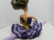 Crochet pattern for Ballerina dress for 12-inch dolls