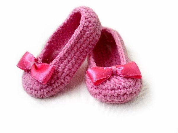 Baby Slippers Crochet Pattern, Baby Booties, Baby Girl Shoes