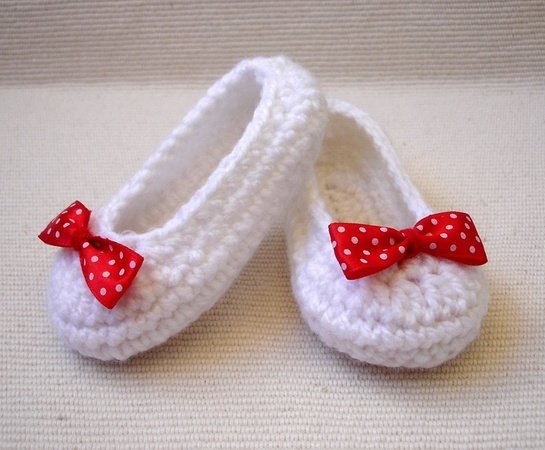 Crochet Shoes Baby Girl