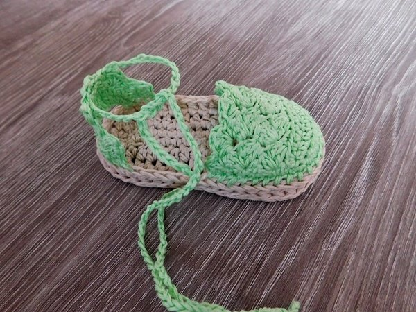 Baby Espadrille, Baby Sandals , Baby booties, Crochet Pattern