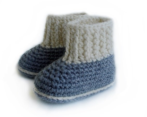Crochet Pattern Baby Booties Baby Booty For Boys And Girls