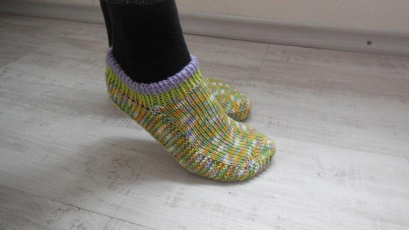 Haussocken Stricken Für Sneakers Diy Pdf