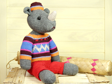 Rhino Marvin knitting pattern