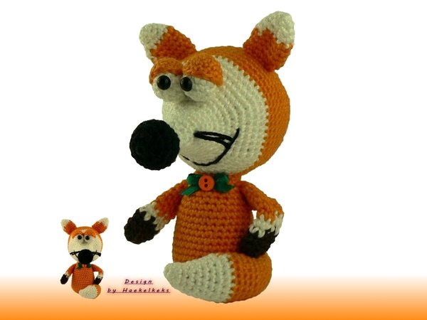 Fox Flori Free Crochet Pattern By Haekelkeks English Version