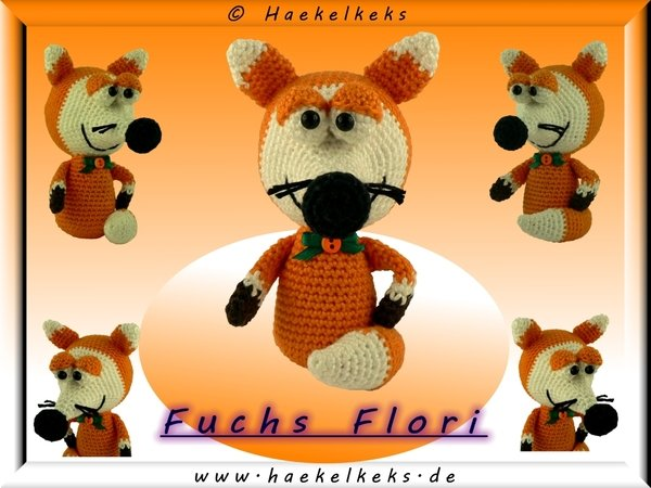 Fox Flori -- free crochet pattern by Haekelkeks -- english version
