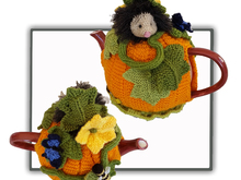 Pumpkin Hedgehog Tea Cosy