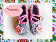 Best Wishes Crochet Slippers Pattern