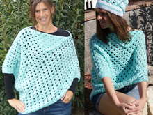 Poncho Summer Style, Gr. 36 - 42