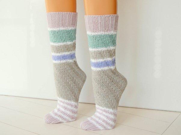 Socken Stricken Spiralsocken Ohne Ferse