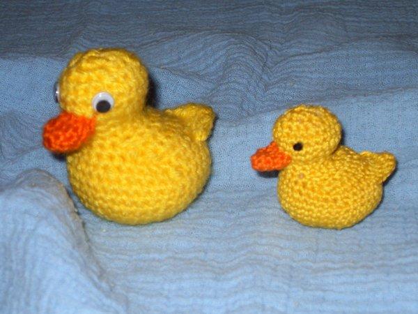 Ente Häkeln Gelb Fluffig Niedlich Dein