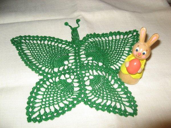 Schmetterling Häkeln Deckchen Häkeln Diy