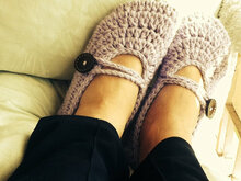 Goddess Crochet slippers Pattern