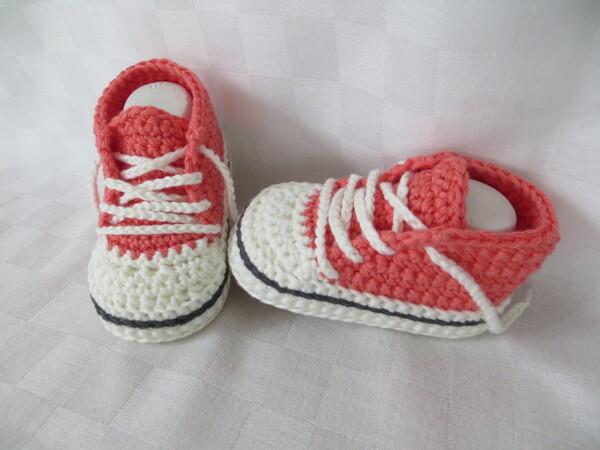 erstklassiger Profi außergewöhnliche Auswahl an Stilen Sonderverkäufe Häkelanleitung für Baby-Turnschuhe (#2)