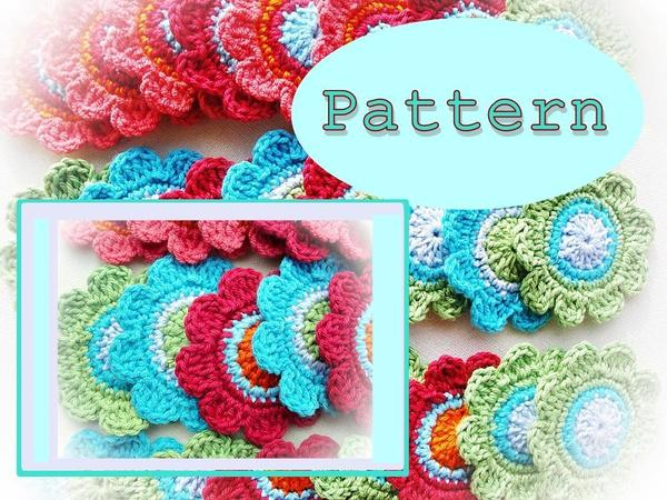 Cheery Flower Crochet Pattern