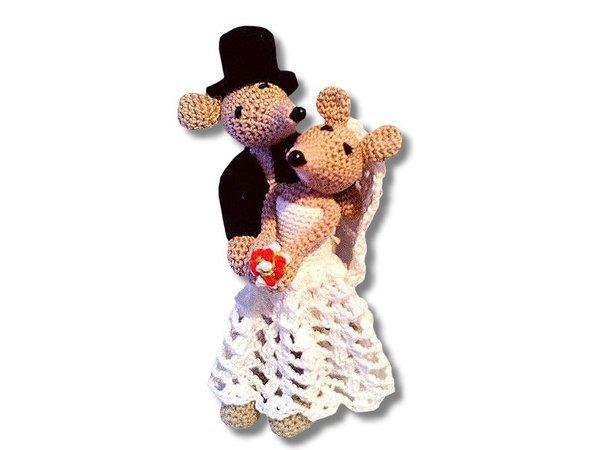 Maus + Mäuserich heiraten // jetzt nachhäkeln