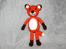 fox crochet pattern