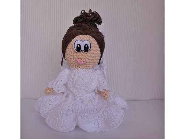 braut h kelanleitung amigurumi puppe. Black Bedroom Furniture Sets. Home Design Ideas