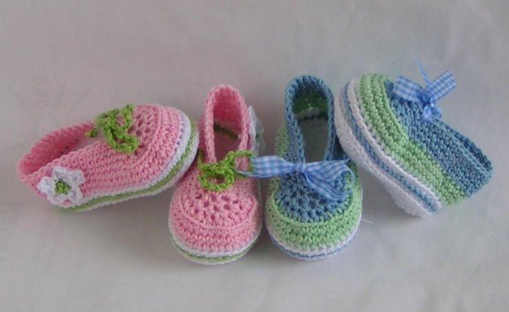 Baby Schuhe Häkeln Baby Ballerinas Häkeln