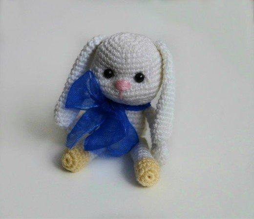 Blue Elephant Keyring/Bag Buddy- Ready to Post | Creative Crochet ... | 450x520