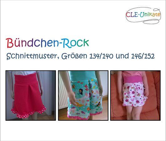 Bündchen-Rock, Größen 134/140 und 146/152