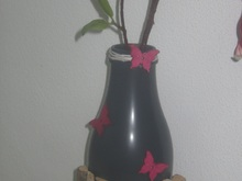 Spray on bottle - Flaschen Vase