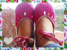 Wonderful Summer Sandals Crochet Pattern