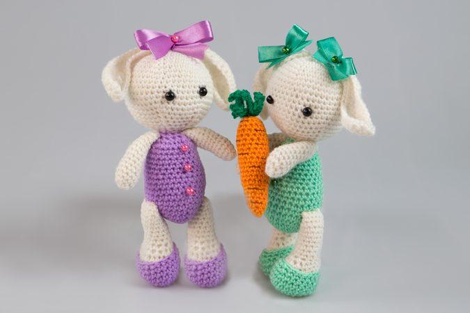 Amigurumi Puppen Häschen Bunny Hase Häkeln