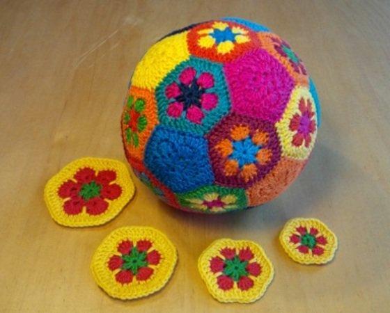 Ball Häkeln Ein Ball Aus Granny Squares