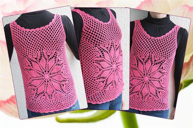 Top häkeln // Netzshirt häkeln ++ Sommershirt