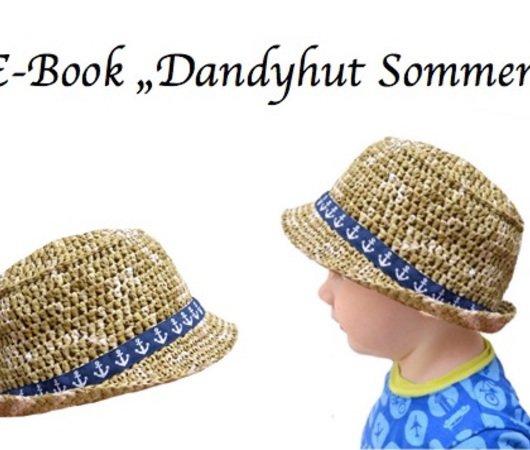 Hut häkeln / Sommerhüte für die ganze Familie