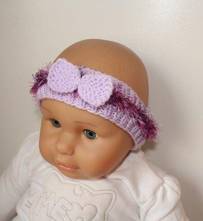 Strickanleitung Baby-Stirnband, ca. 3 - 9 Monate