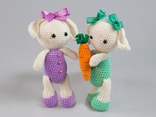 Amigurumi Dolls Bunny Rabbit Hare Crochet Pattern DIY