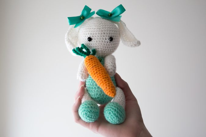 Amigurumi Dolls Bunny Easter Rabbit Hare Crochet Pattern DIY