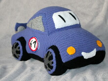 sports car crochet pattern