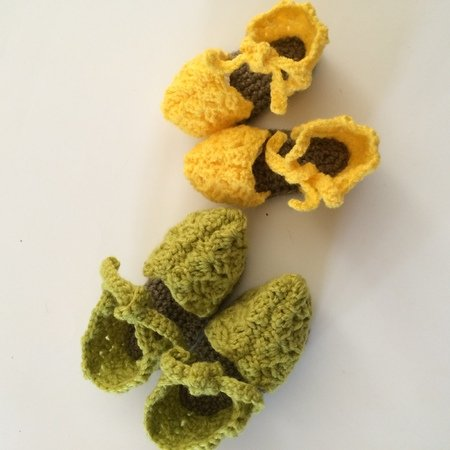 Crochet Baby Espadrilles, 2 sizes Newborn to 6 months and 6 to 9 months, Crochet Baby Summer Sandals