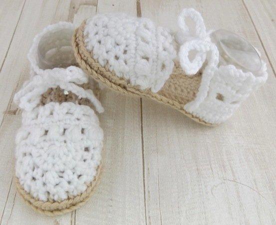 Baby Sandalen Häkeln Sommersandale Häkeln