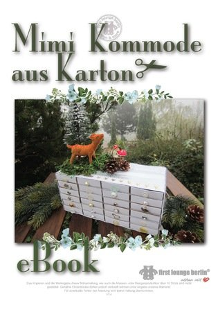 Mimi Papp Kommode E Book Schubladen Basteln Aus Karton