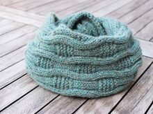 "Cowl ""Anouk"", knitting pattern, easy"