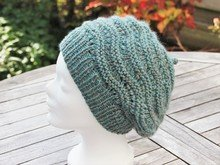 "Beanie ""Anouk"", knitting pattern, one size women"