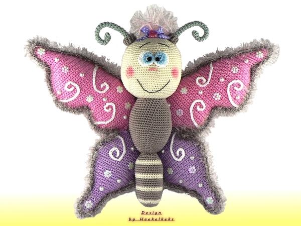 Vlinder Haakpatroon Van Haekelkeks