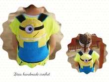 Crochet Minion backpack