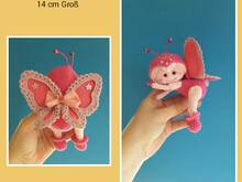 "Butterfly ""Cynthia"" 14 cm tall  - English Uk Pattern - E-Book -"